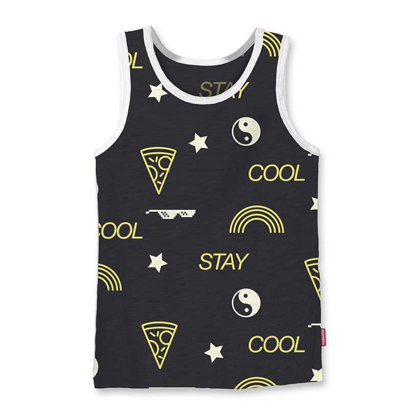 Stay Cool - Youth Tank - Black