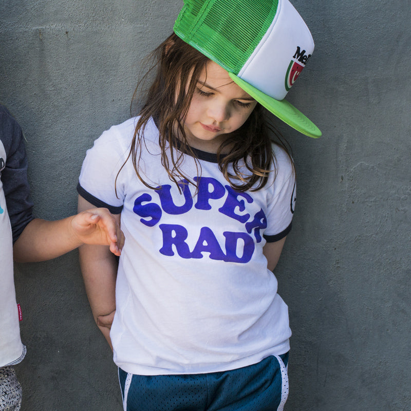 Super Rad | Youth Ringer Tee