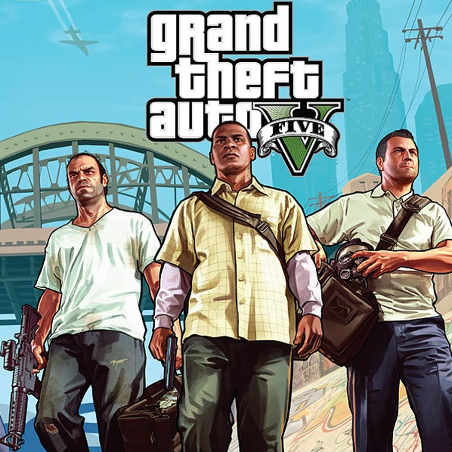 GTA V (PC, Rockstar key)
