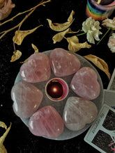Load image into Gallery viewer, Rose Quartz Heart - Stone of Love & SelfLove - 1 Piece