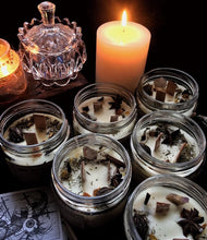 Load image into Gallery viewer, New Moon Beginning - The Ultimate Smudge - Wax -200 Gm + Wooden Wick - 1 Candle