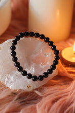 Load image into Gallery viewer, Black Tourmaline Bracelet | Stone of Protection