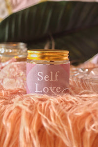 Self Love Scented Soy Candle - 100 Gm