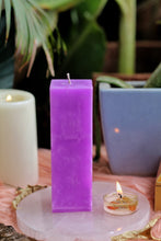 Load image into Gallery viewer, Purple Pillar Candle | Candle for spellwork