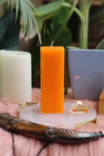 Load image into Gallery viewer, Orange Pillar Candle | Candle for spellwork