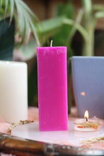 Load image into Gallery viewer, Pink Pillar Candle | Candle for spellwork