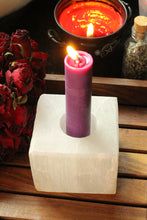 Load image into Gallery viewer, Selenite Candle Holder