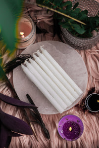 White Candle | Spell Work - Set of 25 | 50 | 100 | 200