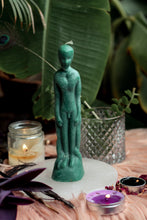 Load image into Gallery viewer, Green Male Figurine Candle