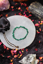 Load image into Gallery viewer, Malachite Bracelet - Stone of Protection & Encouragement