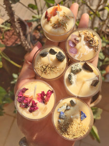 Herbs & Infused Tea Light Candle in India