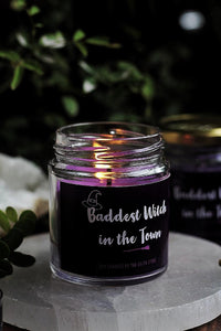 Baddest Witch in the Town Soy Candle - 100 g