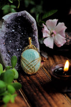 Load image into Gallery viewer, Amazonite Pendant India
