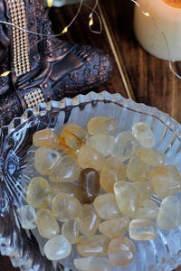 Citrine Tumble Stones - 1 Piece