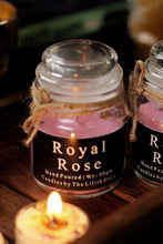 Load image into Gallery viewer, Royal  Rose Scented Candle - 80 Gm