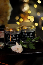 Load image into Gallery viewer, English Lavender Scented Candle Infused with Lavender Buds - 80 Gm