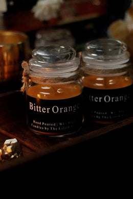 Bitter Orange Scented Candle - 80 Gm