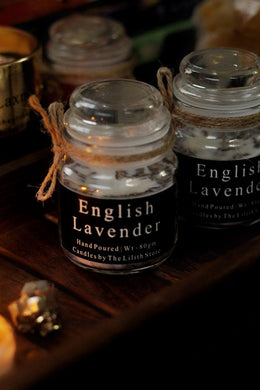 English Lavender Scented Candle - 80 Gm