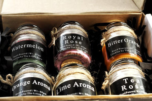 Candle Combo Box of 6 Scented Candles | Gift | Scented Candles
