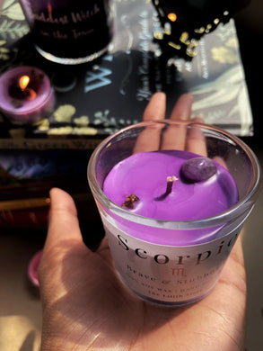 Scorpio Zodiac Mini Candle - 60 Gm