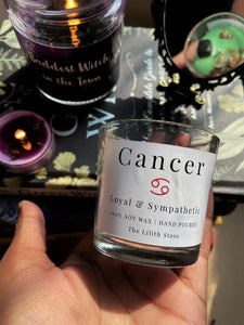 Cancer Zodiac Mini Candle - 60 Gm