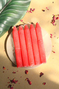 Red Candle | Wiccan Candle Set of 6