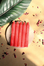Load image into Gallery viewer, Red Candle | Wiccan Candle Set of 6