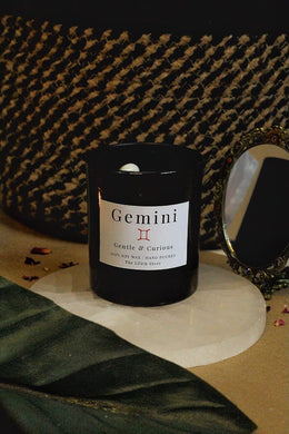 Gemini Zodiac Scented Soy Candle - 170 Gm