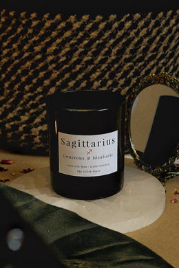 Sagittarius Zodiac Scented Soy Candle - 170 Gm