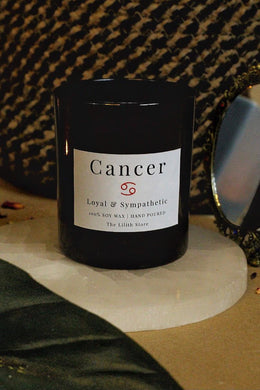 Cancer Zodiac Scented Soy Candle - 170 Gm
