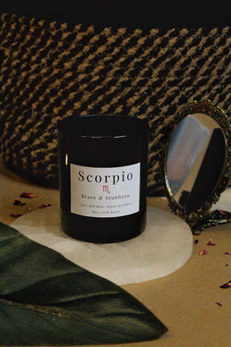 Scorpio Zodiac Scented Soy Candle - 170 Gm