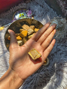 Tiger Eye Mini Raw Stone | Stone for Protection against evil