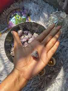 Amethyst Mini Raw Stone - Stone for activating Third Eye