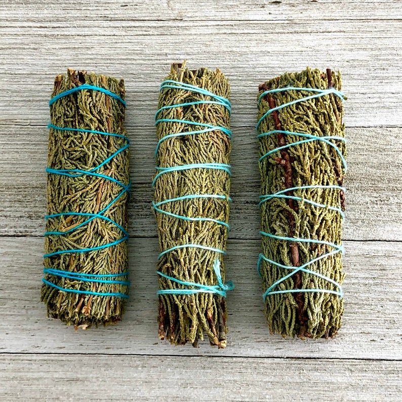 Juniper Smudge Stick - 4 Inches | Pre-book