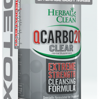 Herbal Clean QCarbo20 (20oz Drink + Tablets)