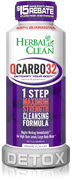 Herbal Clean QCarbo32 (32oz Drink)