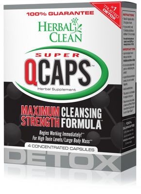 Herbal Clean Super QCaps (4 Capsules)