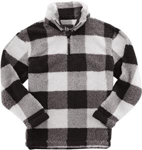Black/Natural Buffalo Plaid