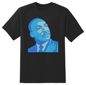Martin Luther King (Blue)