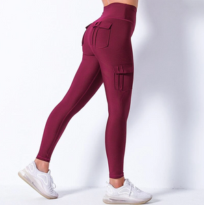 Pre-order High Waist Cargo Leggings