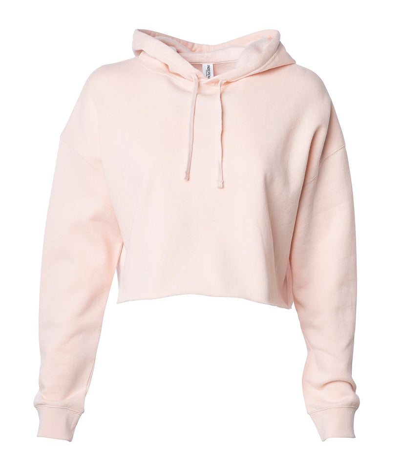 Women's Cropped Hooded Sweatshirt