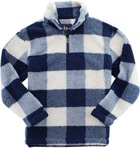 Navy/Natural Buffalo Plaid