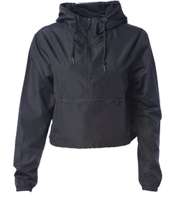 Women's Crop Windbreaker