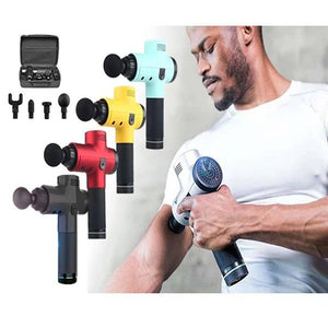 4-in-1 Deep Muscle Massage Gun