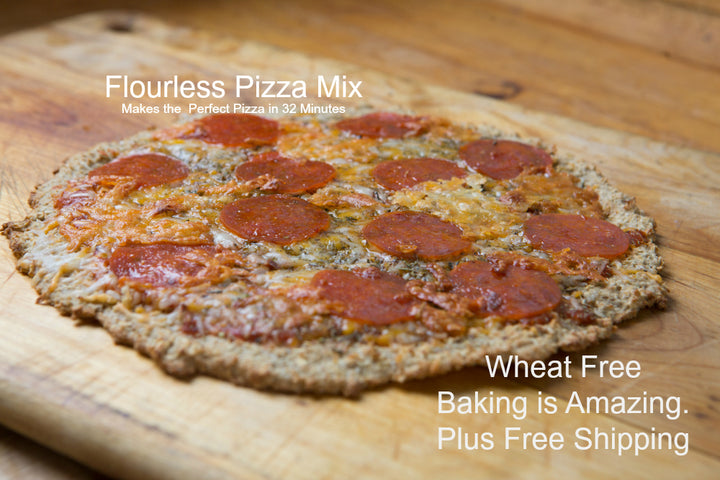 Easy Wheat Free-Flourless Pizza Mix