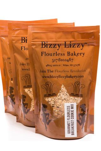 Flourless Cookie Mix -- perfect on-the-go breakfast food or between-meal snack