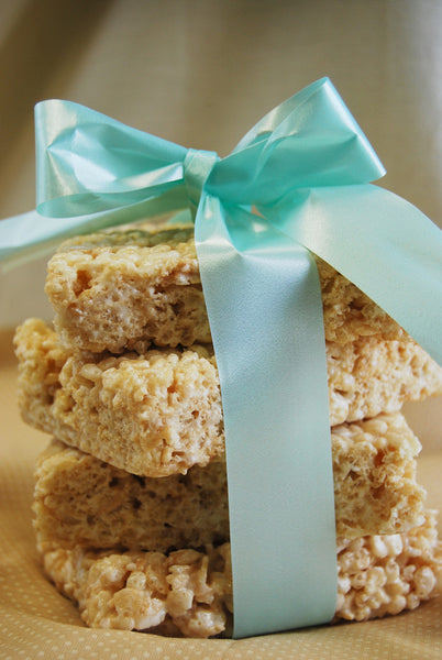 Homemade Bizzy Lizzy Krispie Bars