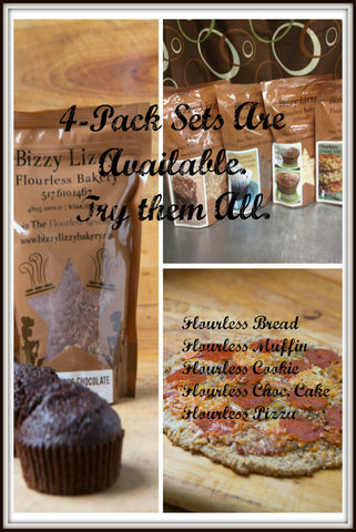 Flourless Mix Combination Packs