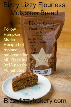 Flourless Muffin Mixes -- create fruity or savory muffins, and even pancakes!