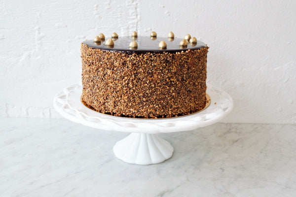 Chocolate Coffee Hazelnut Cake